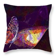 Butterfly Wings Insect Nature  Throw Pillow