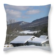 Alpine Appeal Throw Pillow