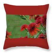 By Grace You Have Been Saved Throw Pillow