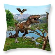 By The Lake 6 Throw Pillow