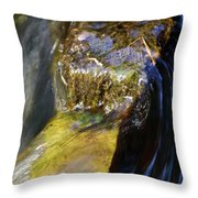 By The Mill. Water Throw Pillow