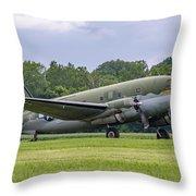 C-46 Commando Tinker Belle Throw Pillow