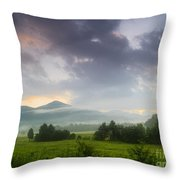 Cades Cove. Throw Pillow by Itai Minovitz