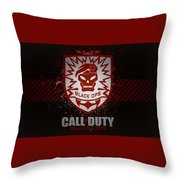 Call Of Duty Black Ops Throw Pillow