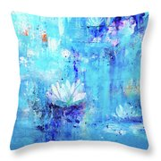 Calm In The Storm Throw Pillow