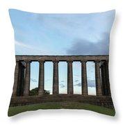 Calton Hill - Edinburgh Throw Pillow