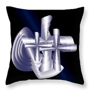 Calvary D2 Throw Pillow