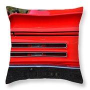 Firebird Tail Light Throw Pillow