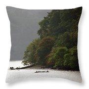 Cameroon Fisherman Africa Throw Pillow