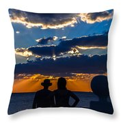 Can We Stay Throw Pillow