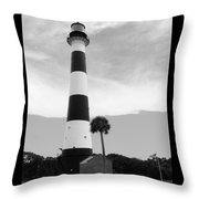 Canaveral Lighthouse  Throw Pillow