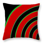 Candid Color 1 Throw Pillow