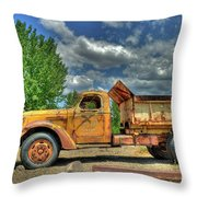Canyon Concrete 2 Throw Pillow