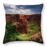 Canyon Wonderland Throw Pillow