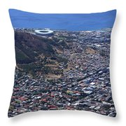 Cape Town South Africa Throw Pillow