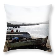 Cape Verde Throw Pillow