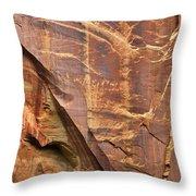 Capitol Reef 9497 Throw Pillow