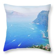 Capri Island, Italy Throw Pillow