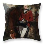 Captain George K. H. Coussmaker Throw Pillow