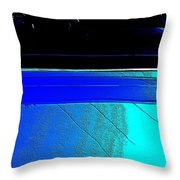 Car Reflection Bump Map 5 Throw Pillow