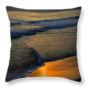 Caribbean Sunshine Throw Pillow