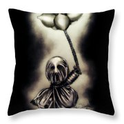 Carnal Desires Throw Pillow