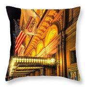 Carnegie Hall Throw Pillow