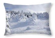 Carter Dome - White Mountains New Hampshire Usa Throw Pillow