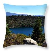 Cascade Lake Throw Pillow