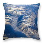 Cascade Mountains Throw Pillow