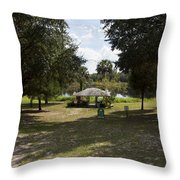 Cassadaga Spiritualist Camp In Florida Throw Pillow