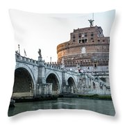 Castel Sant'angelo Throw Pillow
