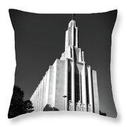 Cathedral Of Saint Joseph Throw Pillow