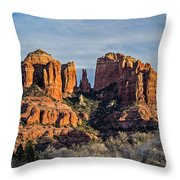 Cathedral Rock, Sedona - 2 Throw Pillow