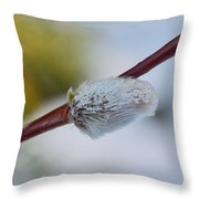 Catkins Throw Pillow
