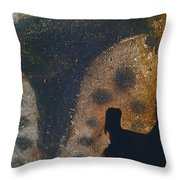 Cave Art: Horse Throw Pillow