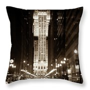 Cbot Throw Pillow