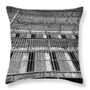 Cell Block Throw Pillow
