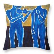 Celtic Music Throw Pillow