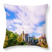 Central Park, New York Throw Pillow