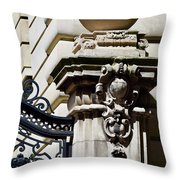 Central Park West 2 Throw Pillow