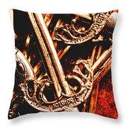 Centurion Of Battle Throw Pillow