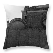 Cesena - Italy - The Cathedral  Throw Pillow
