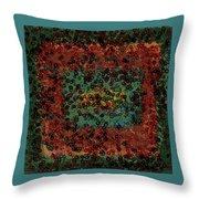 Chaos Throw Pillow by Bonnie Bruno