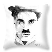 Chaplin Throw Pillow