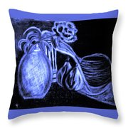 Last Call Of The Night Throw Pillow