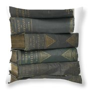Charles Darwins The Origin Of Species Throw Pillow
