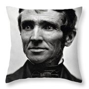 Charles Goodyear, American Inventor Throw Pillow