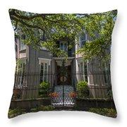 James Simmons House Throw Pillow
