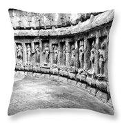 Chausath Yogini Temple Throw Pillow